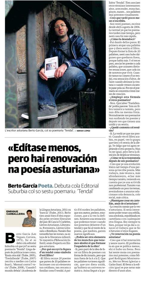 ENTREVISTA BERTO GARCIA